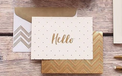 Greeting Cards - Hello