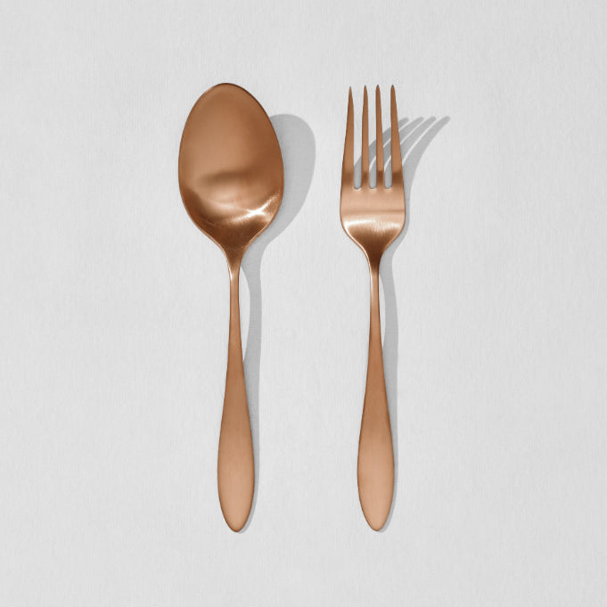 flatware serving set