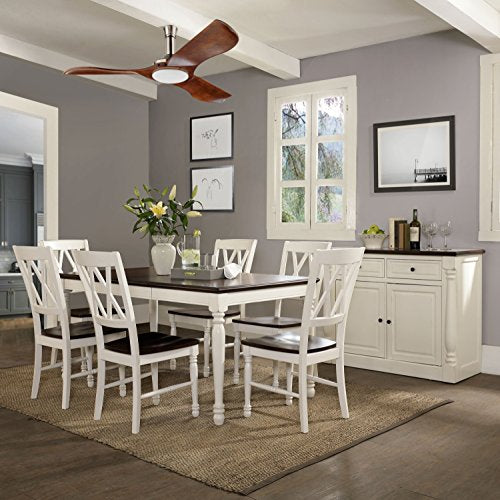Crosley Furniture KF20001-WH Shelby 7-Piece Dining Set, White
