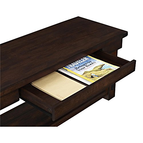 Ameriwood Home Wildwood Wood Veneer Entryway Hall Tree with Bench, Espresso