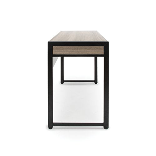 OFM ESS-1002-DWD Essentials ESS-1002 2-Drawer Office Desk, Driftwood