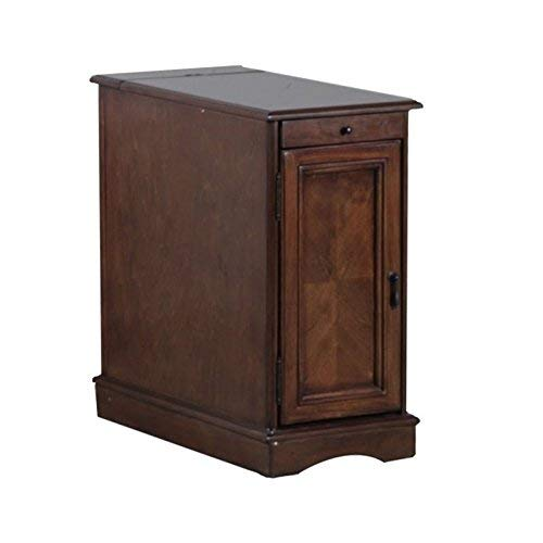 Powell's Furniture 15A2017HA Butler Accent Table, Hazelnut, Small,
