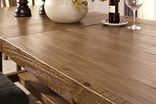 Ashley Furniture Signature Design - Tamilo Dining Room Table - Gray/Brown