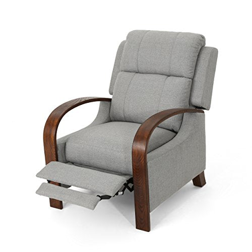 Christopher Knight Home 304661 Randall Recliner, Grey + Brown