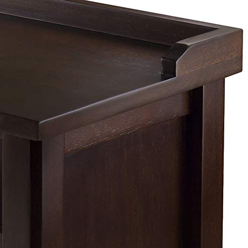Winsome 94841 Dayton Bench, Antique Walnut