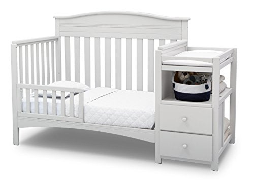 Delta Children Birkley Convertible Crib N Changer