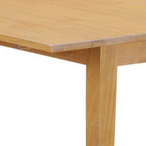 East West Furniture NFT-OAK-T Rectangular Dinette Kitchen Table with 12-Inch Butterfly Leaf
