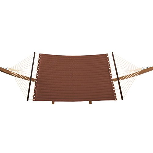 Classic Accessories 50-022-HHENNA-RT Montlake Quilted Hammock with Stand, Heather Henna