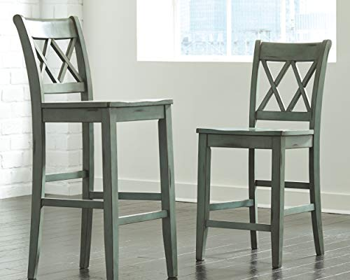 Ashley Furniture Signature Design - Pinnadel Counter Dining Table - Weathered Brown Finish w/ Gray Undertones