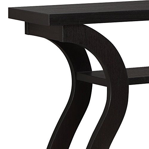 "Monarch Specialties I 2445, Hall Console, Accent Table, Cappuccino, 47""L"