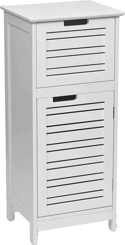 "EVIDECO Over The Toilet Space Saver Cabinet Bathroom Furniture 70.5"" H X 24.8"" L (White)"