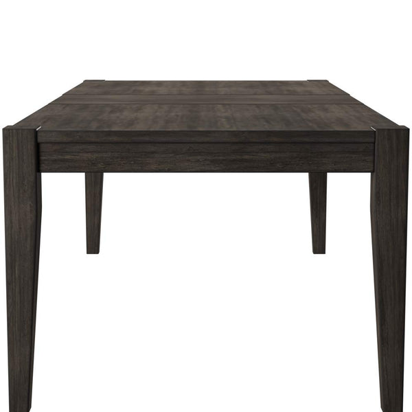 Ashley Furniture Signature Design - Chadoni Dining Room Table - Separate Extension Leaf Included - Contemporary - Smoky Gray Finish