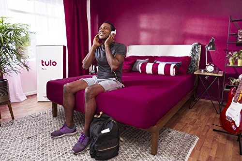 Mattress by tulo, Pick your Comfort Level, Firm Queen Size 10 inch, Bed in a Box, Great for Sleep and Optimal Body Support