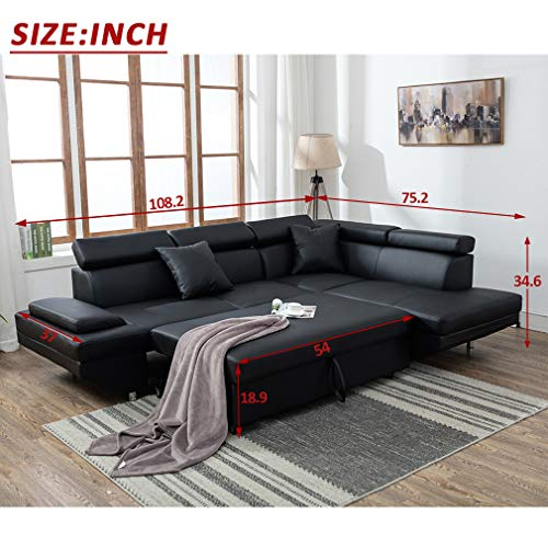Sofa Sectional Sofa Futon Sofa Bed Corner Sofas for Living Room Furniture Couch and Sofas Set Leather Sleeper Modern Contemporary Upholstered