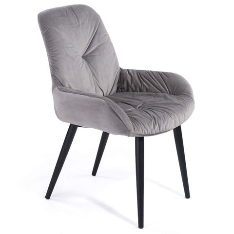 Lounge Leisure Chair Simple Modern Meeting Room Seat Entertainment Game Casual Coffee Chair Student Home Study Fashion Artist Studio Seat Directors Chairs (Color : Gray, Size : 455689cm)
