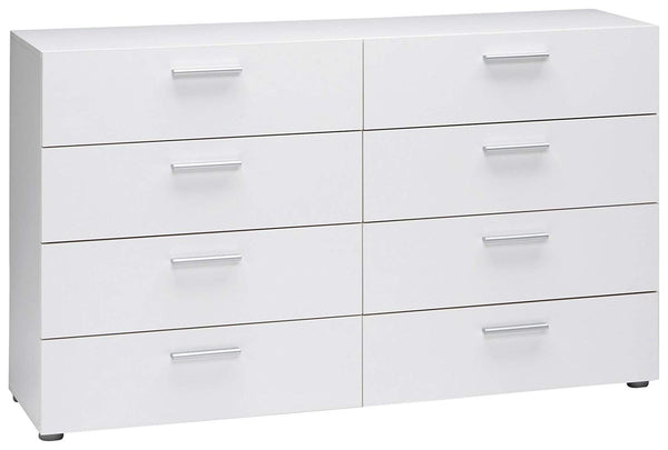 Tvilum Austin 8-Drawer Dresser, White