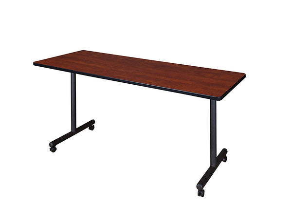 "Regency A-KTRCC6624SG Kendrick Mobile Training Table, 66"" x 24"", Sangria"
