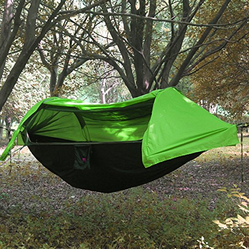 WintMing Patent Camping Hammock with Mosquito Net and Rainfly Cover