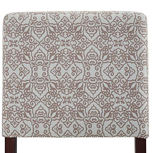 "Pulaski 156DS-C013-608-625 Soft Close Taupe Cream Swirl, 53.50"" W x 20.00"" D x 24.00"" H Upholstered Storage Bench,"