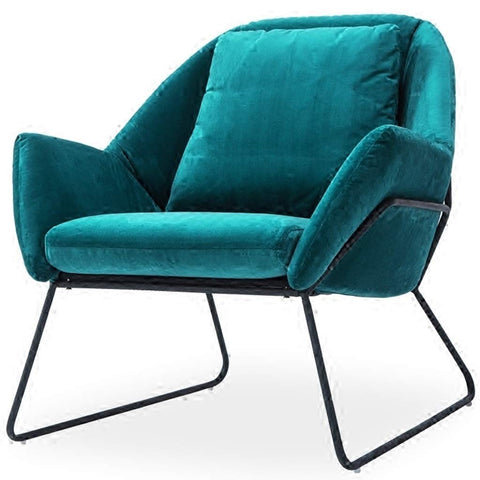 Lounge Leisure Chair Simple Modern Meeting Room Seat Entertainment Game Leisure Living Room Chair Student Home Study Fashion Artist Studio Seat Directors Chairs (Color : Green, Size : 787880cm)