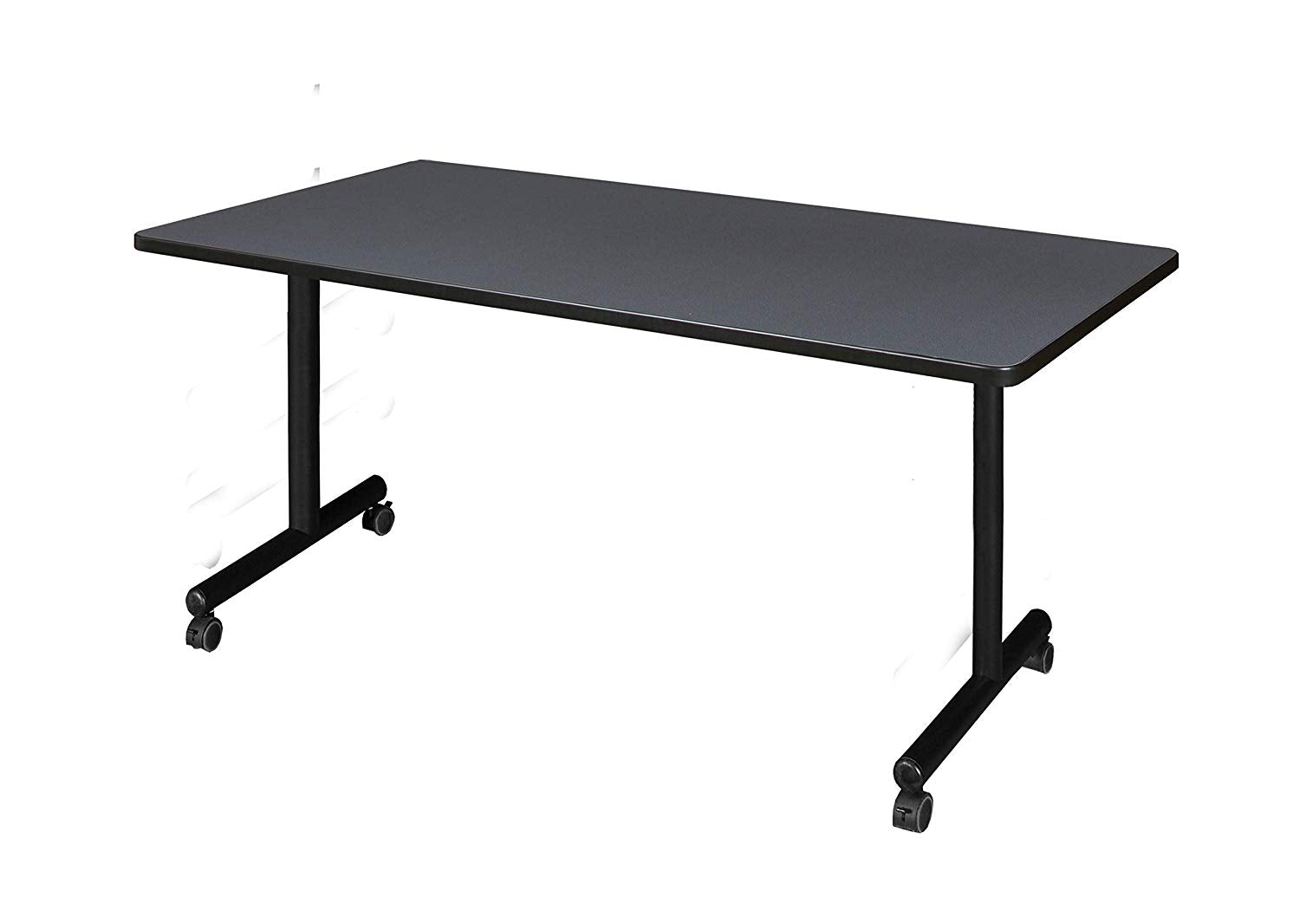 "Regency A-KTRCC6630SL Kendrick Mobile Training Table, 66"" x 30"", Slate"