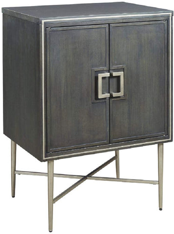 Ashley Furniture Signature Design - Beritbury Accent Cabinet - Antique Gray