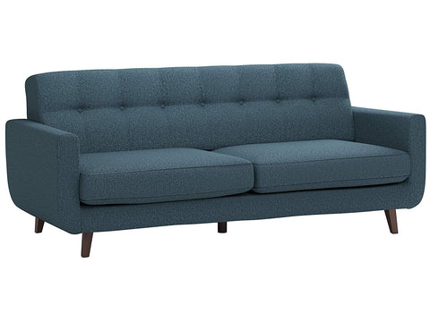 "Rivet Sloane Mid-Century Modern Tufted Sectional Sofa Couch, 79.9""W, Shell"