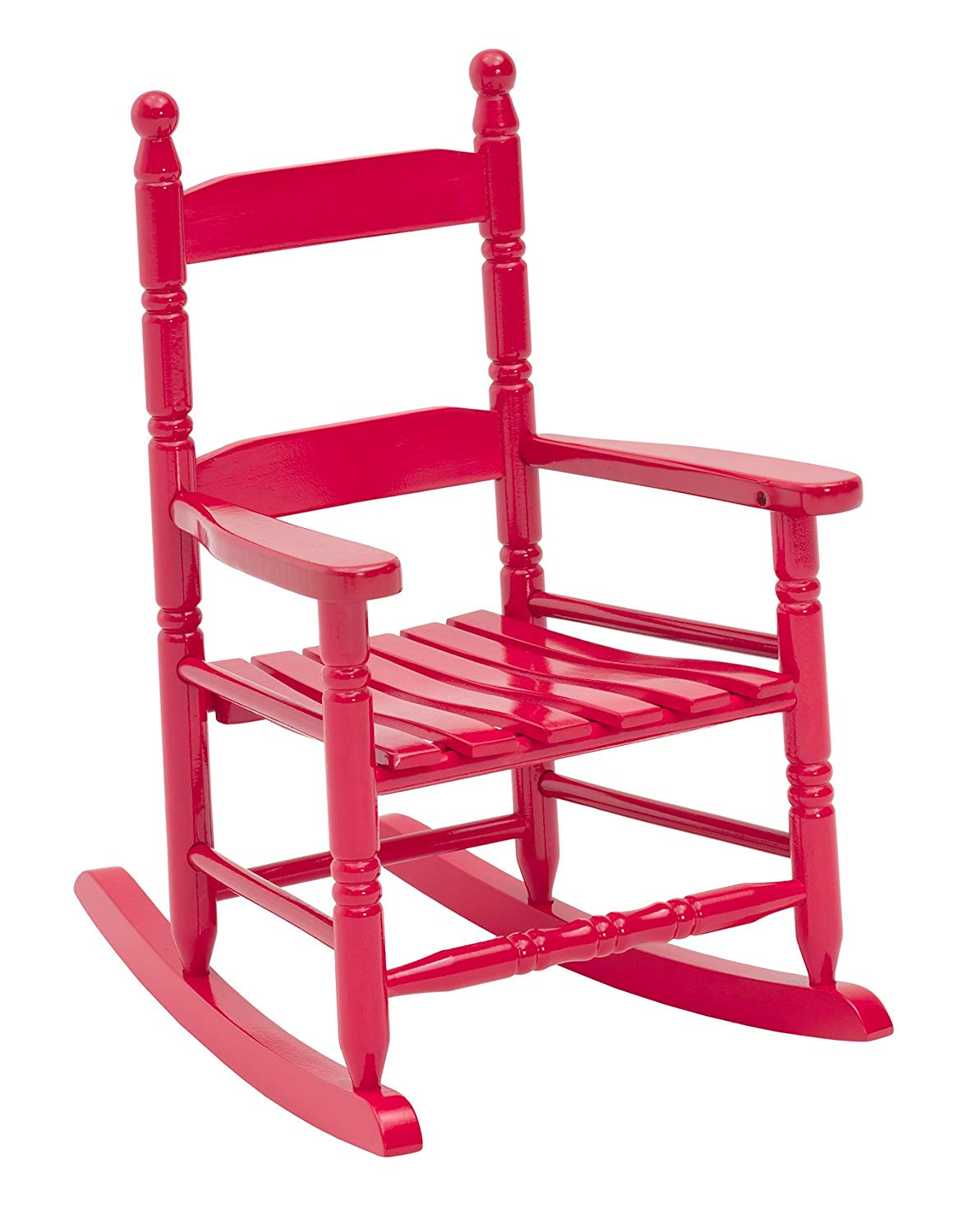 Jack-Post KN-10R Classic Child's Porch Rocker Red