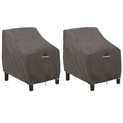 Classic Accessories Ravenna Patio Deep Seat Lounge Chair Cover (2-Pack)