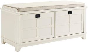 Crosley Furniture Adler Entryway Bench - White