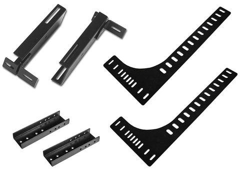 Leggett and Platt 4B8811 Headboard Brackets for 2017 Adjustable Base Models, Fits Split California King Size Adjustable Bases