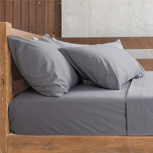 Bedsure Standard Pillowcase Set of 2 Covers Flannel Grey