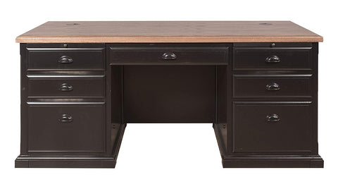 Martin Furniture IMSO680 Southampton Double Pedestal Executive Desk
