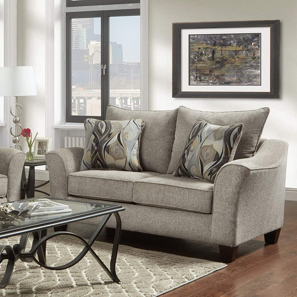 Roundhill Furniture LAF7700CP Camero Sofa and Loveseat Set