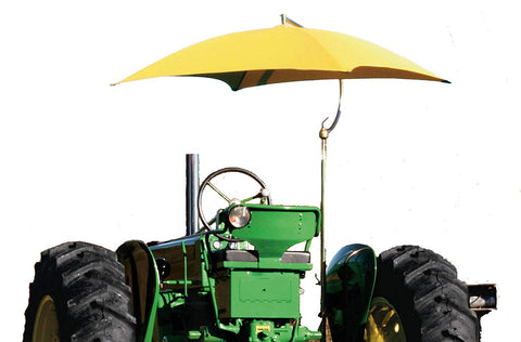 International Resources Tractor Sun Shade Umbrella Multi Color (Orange)