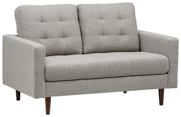 "Rivet Cove Mid-Century Modern Tufted Sofa Couch, 71.7""W, Light Grey"