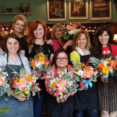 Floral and Plant Design Classes by DIRT!