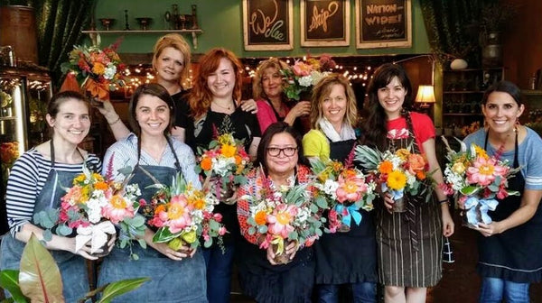 Intro to Floral Design Class—July 12th