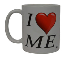 Best Funny Coffee Mug I Love Me Heart Novelty Cup Wives Great Gift Idea - Coffee Mugs - Rogue River Tactical  - Rogue River Tactical