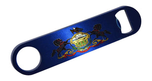 Pennsylvania State Flag Speed Professional Bottle Opener Heavy Duty Gift PA - Bottle Openers - Rogue River Tactical  - Rogue River Tactical