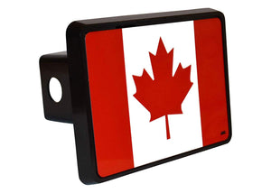 Rogue River Tactical Canada Canadian Maple Leaf Flag Trailer Hitch Cover Plug Gift Idea - Hitch Covers - Rogue River Tactical  - Rogue River Tactical
