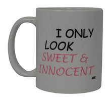 Best Funny Coffee Mug Wife I Only Look Sweet & Innocent Novelty Cup Wives Great Gift Idea For Mom Mothers Day Mom Grandma Spouse Bride Lover Or Parent (Sweet) - Coffee Mugs - Rogue River Tactical  - Rogue River Tactical