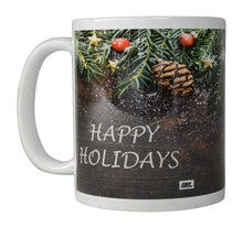 Rogue River Funny Coffee Mug Merry Christmas Happy Holidays Novelty Cup Great Holiday XMAS Gift Idea For Men Women Office Party (Happy Holidays) - Coffee Mugs - Rogue River Tactical  - Rogue River Tactical