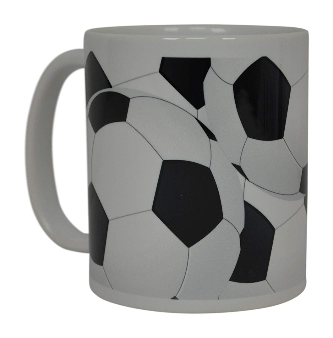 Soccer Ball Coffee Mug Novelty Cup Great Gift Idea For Men Women Soccer Players Lovers Fans - Coffee Mugs - Rogue River Tactical  - Rogue River Tactical
