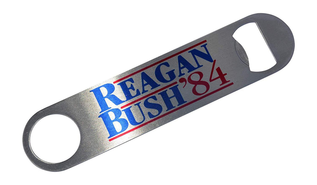 Reagan Bush 84 Speed Bottle Opener Heavy Duty Gift For Conservative Republican - Bottle Openers - Rogue River Tactical  - Rogue River Tactical