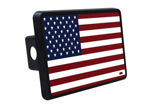 Rogue River Tactical USA American Flag Trailer Hitch Cover Plug US Patriotic Old Glory - Hitch Covers - Rogue River Tactical  - Rogue River Tactical
