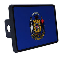 Rogue River Tactical Wisconsin State Flag Trailer Hitch Cover Plug WI - Hitch Covers - Rogue River Tactical  - Rogue River Tactical