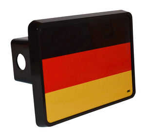 Rogue River Tactical Germany German Flag Trailer Hitch Cover Plug Gift Idea - Hitch Covers - Rogue River Tactical  - Rogue River Tactical