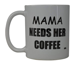 Rogue River Funny Coffee Mug Best Mom Moma Needs Her Coffee Novelty Cup Great Gift Idea For Mom Mothers Day Wife Or Parent (Mama) - Coffee Mugs - Rogue River Tactical  - Rogue River Tactical