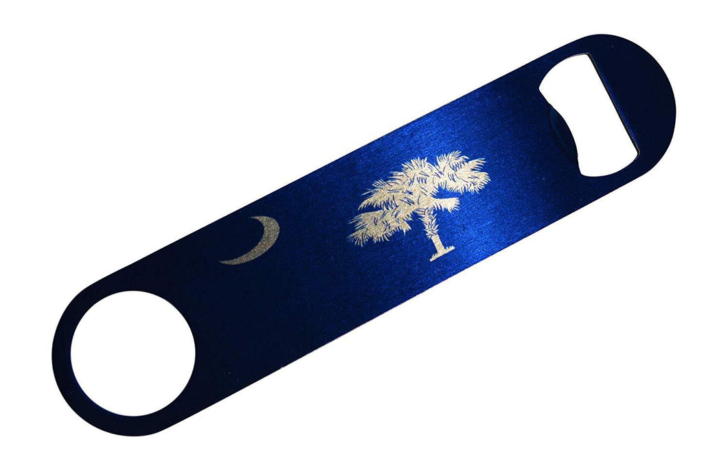 South Carolina State Flag Speed Professional Bottle Opener Heavy Duty Gift SC - Bottle Openers - Rogue River Tactical  - Rogue River Tactical